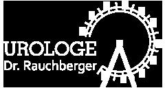 Dr. Rauchberger | Urologe - Logo weiss